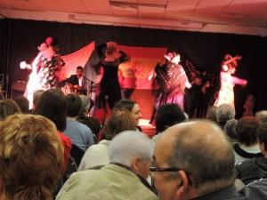 Et les sept danseuses vont évoluer ensemble