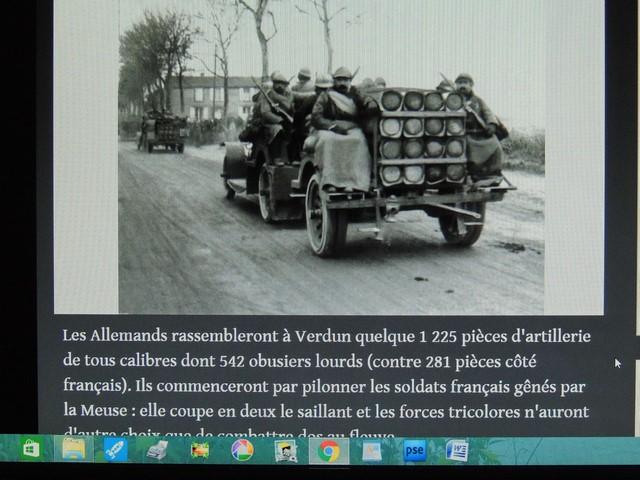 L'artillerie allemande surpuissante