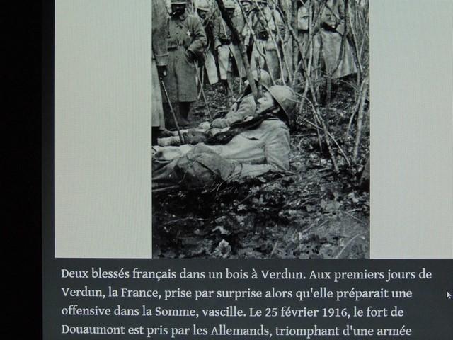 Soldats français blessés