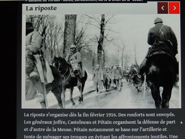La riposte des troupes françaises