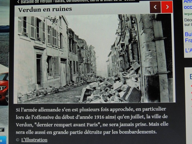 Verdun en ruines