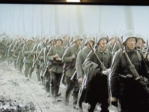 Le renfort de troupes allemandes avant l'attaque de Verdun