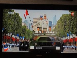 Le Command-car du Général de division commandant l'Ecole Polytechnique