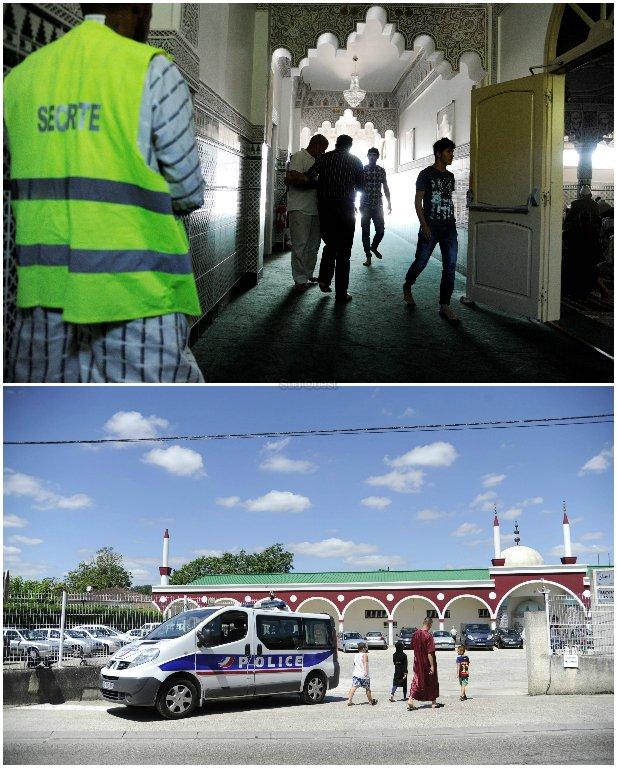 La sécurité a été particulièrement observée,tant à l'entrée de la salle que à l'entrée par la Police Nationale