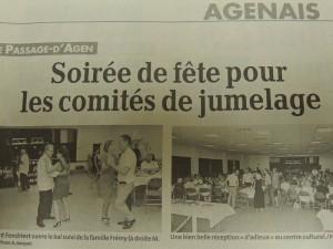 Photos réunies montrant la bonne ambiance avec Le Président Jean-Claude Fondriest ouvrant le bal!