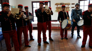 L'ambiance était assurée avec des musiciens plein d'entrain