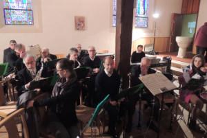 Les clarinettes et flûte s'installent