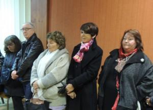 Françoise LAURENT, Conseillère départementale et Annie CASTAING de la Mairie d'Agen ont tenue à être présentes