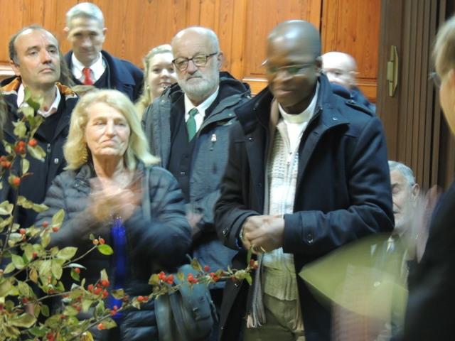 Le Président, Jean-Claude Fondriest conclue cette réunion emprunte de respect et de convivialité en invitant au repas à ESTILLAC