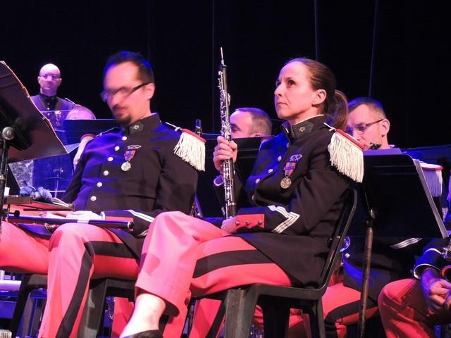 La hautboïste qui joue également du cor anglais