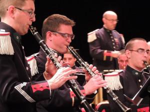 Les 1ères clarinettes assurent avec brio la partition de violon en orchestre symphonique