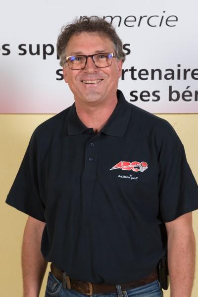 Interlocuteur Agen Basket-Club, le Vice-Président Bertrand Lanciaux
