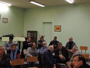 Vladimir et Eric Larcher , Gérard Ortal prennent place maintenant