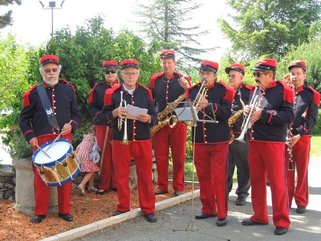 Les musiciens prêts pour la cérémonie