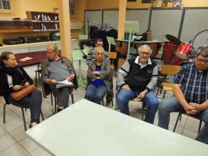 Assistaient entre autres Elodie Grossenbacher, Jean-Claude Fondriest encore notre Président