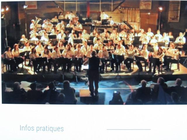 L'orchestre de l'Harmonie Mugronnaise au grand complet!