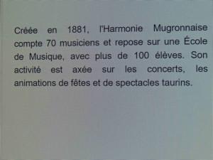 Un paragraphe sur l'orchestre de Mugron