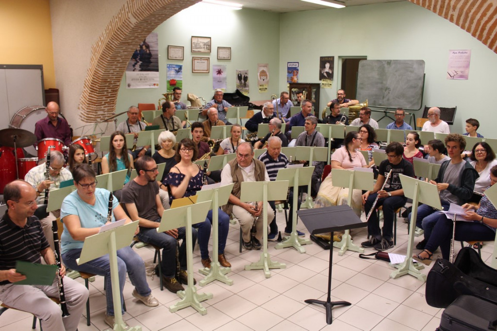 """Cette photo intitulée """"Première répétition d'Agen Orchestra"""""""