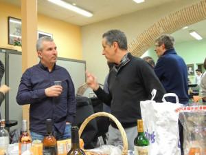 Laurent très sérieux écoute Gilles