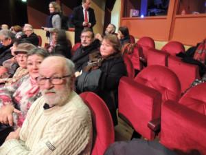 Au premier rang Maurice et Danielle Favennec et au second rang Gérard et Françoise Vardon