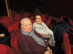 A ma gauche s'étaient assis l'ami Julien et son épouse Jeanne