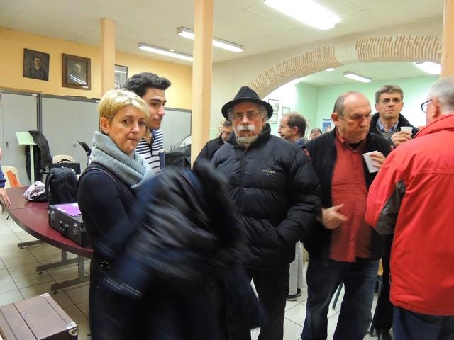 Certains sont sur le point de partir comme notre ami Jacques Ortal  qui a même mis déjà le chapeau sur la tête