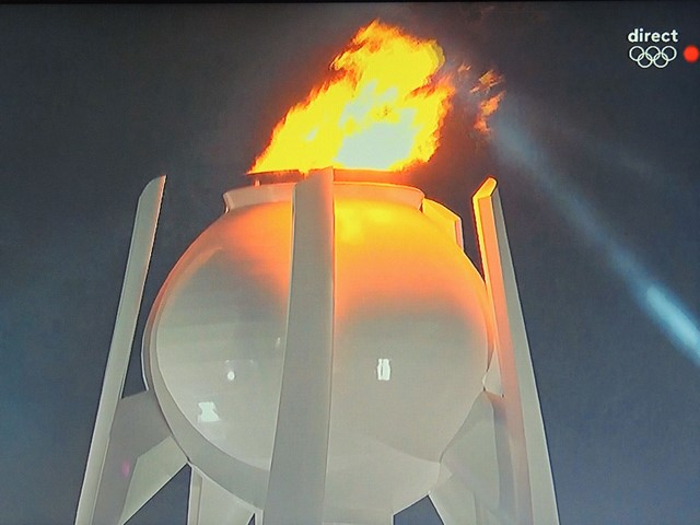 La flamme olympique brûlera pour la durée des Jeux