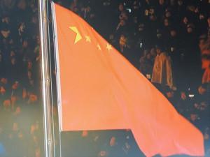 Montée des couleurs chinoises