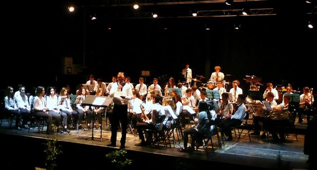 Présentation de l'orchestre des élèves de l'Ecole de musique de Mugron