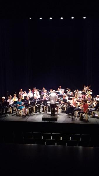 L'orchestre dirigée par Laurent Nani