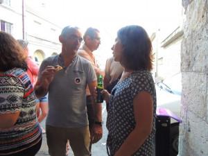conversation entre Jean-Michel et Elodie, toujours très écoutée et aussi à l'écoute de tous.