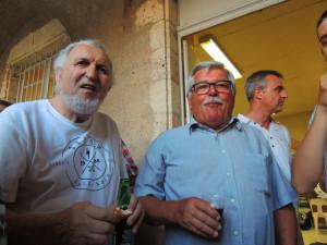 Alain et Daniel m'ont dit être contents de me revoir: merci mes amis;