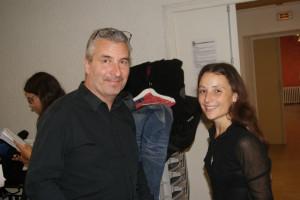 Notre Chef Laurent et sa compagne Morgane
