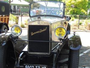 Sa carrosserie est originale a cette Donnet Zedel